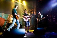 La banda se realiza en etapa Fotos de archivo