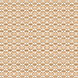 La banda variopinta astratta beige di Brown allinea Mesh Modern Pattern Background Fotografia Stock Libera da Diritti