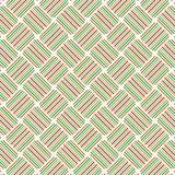 La banda variopinta del retro plaid allinea Mesh Web Pattern Background Illustrazione Vettoriale