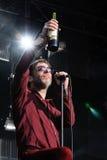 La bande de Mercury Rev exécute chez Dia de la Musica Festival. Images libres de droits