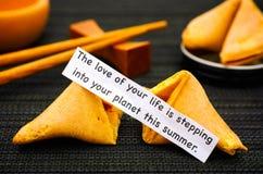 La bande de papier avec l'expression l'amour de votre vie fait un pas dans Y Image stock
