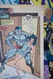 La bande dessinée de X-Men éditée par des bandes dessinées de merveille illustration de vecteur