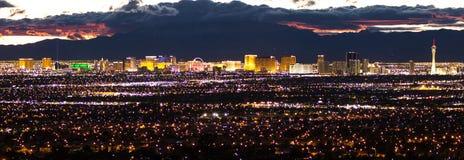 La bande, Las Vegas Nevada Photographie stock