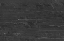 La bande met en parallèle la texture sans couture de revêtement de mur en pierre Photographie stock libre de droits