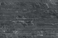 La bande met en parallèle la texture sans couture de revêtement de mur en pierre Photos libres de droits