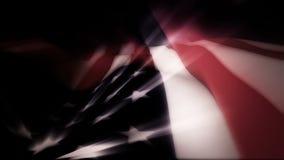 La bandera americana agita en la brisa con efectos luminosos - vieja gloria 0103 HD libre illustration