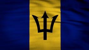 La bandera 3d de Barbados animó libre illustration