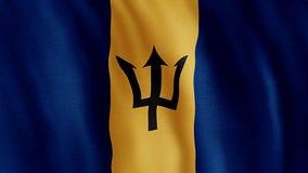 La bandera de Barbados ilustración del vector