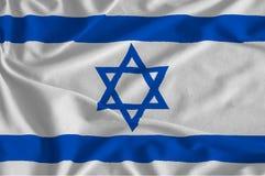 la bandera de Israel Imagen de archivo