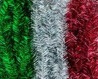 La bandera de Italia celebra Fotos de archivo