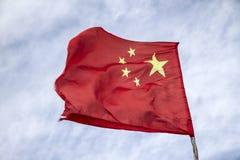 La bandera de la República Popular China Imagenes de archivo