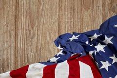 La bandera de los Estados Unidos Imágenes de archivo libres de regalías