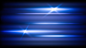 La bandera de neón abstracta de la luz brilla intensamente Fotos de archivo