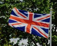 La bandera de uni?n del Reino Unido fotografía de archivo