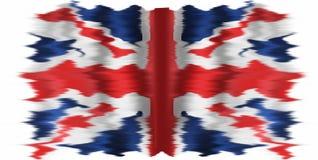 La bandera de Union Jack o de unión Foto de archivo
