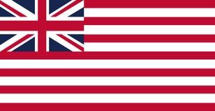 La bandera del East la India Company ilustración del vector