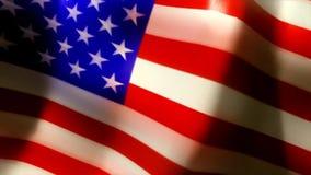 La bandera Estados Unidos de los E.E.U.U. unió stock de ilustración