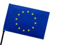 La bandera europea o bandera de Europa imagenes de archivo