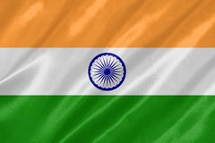 La bandera nacional de la India libre illustration