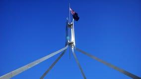La bandiera australiana Fotografia Stock