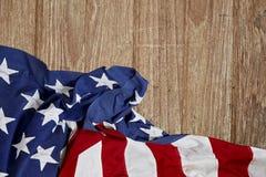 La bandiera degli Stati Uniti Fotografie Stock