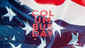 La bandiera degli Stati Uniti d'America in primo piano, Immagini Stock Libere da Diritti
