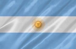 La bandiera dell'Argentina royalty illustrazione gratis