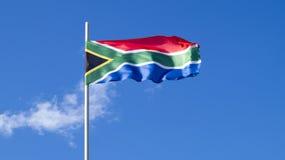 La bandiera dello stato RSA Fotografia Stock Libera da Diritti