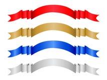 La bandiera di colore ha impostato 2 Fotografie Stock