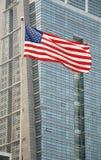 La bandiera merican Immagine Stock