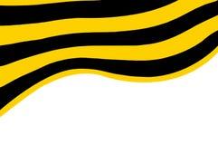 La bandiera nastro della st george Fotografie Stock Libere da Diritti