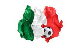 La bandiera nazionale del messicano Coppa del Mondo della FIFA La Russia 2018 Immagini Stock Libere da Diritti