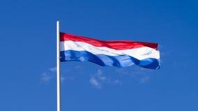 La bandiera nazionale del paese i Paesi Bassi Fotografie Stock