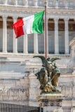 La bandierina italiana Fotografie Stock Libere da Diritti