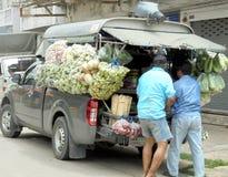 La Bangkok-Tailandia: Cosa popolare della stalla commovente in Tailandia Immagine Stock