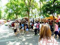 La Bangkok-Tailandia: Mercato di JJ, fine settimana Fotografia Stock
