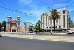 La banlieue impressionnante de Melbourne Photographie stock libre de droits