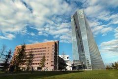 La Banque Centrale Européenne de BCE à Francfort Photo stock