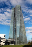 La Banque Centrale Européenne de BCE à Francfort Photographie stock libre de droits