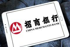 La banque d'affaires de la Chine, logo de CMB Image stock