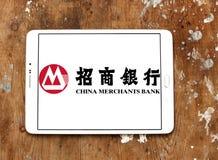 La banque d'affaires de la Chine, logo de CMB Photos stock