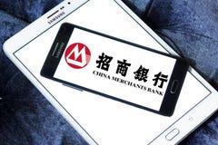 La banque d'affaires de la Chine, logo de CMB Images stock