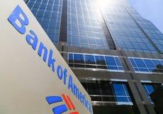La Banque d'Amérique à Kansas City Images libres de droits