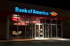 La Banque d'Amérique Photographie stock