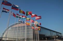 La banque d'investissement européenne (BEI) image stock