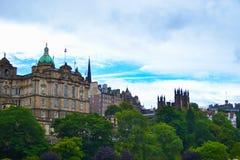 La banque de l'Ecosse siège l'Écossais de Lloyds Banking Group photographie stock