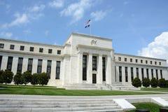 La banque fédérale de réserve Images libres de droits