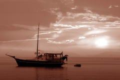 La barca Immagine Stock