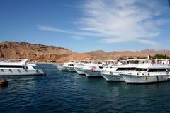 La barca al mare Fotografie Stock