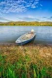 La barca del pescatore Immagine Stock